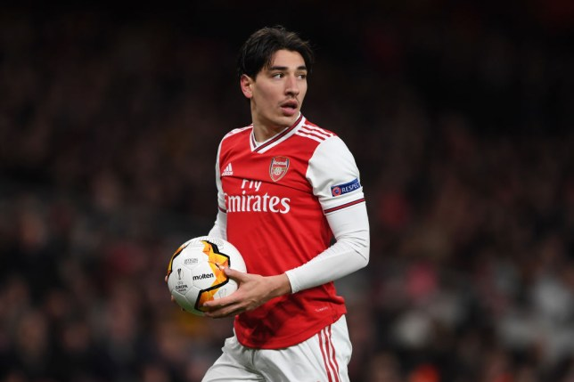 Arsenal right-back Hector Bellerin is wanted by Barcelona