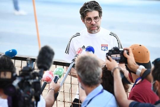 Directeur sportif lyonnais Juninho