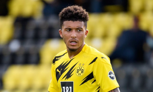 Jadon Sancho has been Manchester United's top transfer target for the summer
