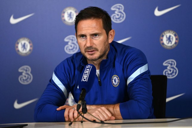 Lampard remained coy on transfers