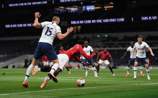 Paul Pogba Tottenham Hotspur v Manchester United - Premier League