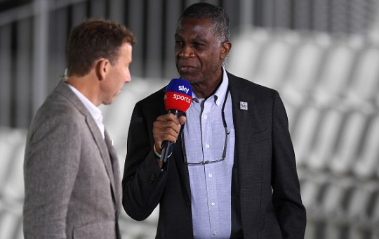 Michael Holding criticised England and Australia for not taking a knee
