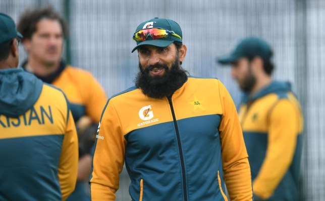 Misbah-ul-Haq was encroached by Pakistan's recent tour of England