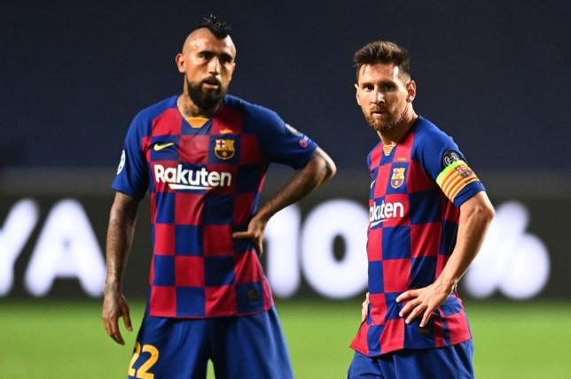 Lionel Messi says Arturo Vidal's exit will be felt at Barcelona