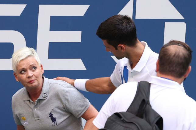 Novak Djokovic Apologises After Us Open Default For Hitting Line Judge With A Ball Metro News