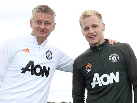 Ole Gunnar Solskjaer backs Donny van de Beek to add goals to Manchester United's midfield
