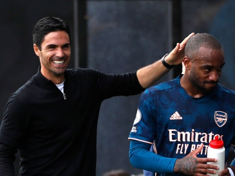 Arsenal boss Mikel Arteta confirms no talks have started yet over new Alexandre Lacazette contract