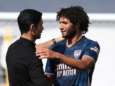 Mikel Arteta admits Mohamed Elneny 'had doubts' and lacked self-belief at Arsenal