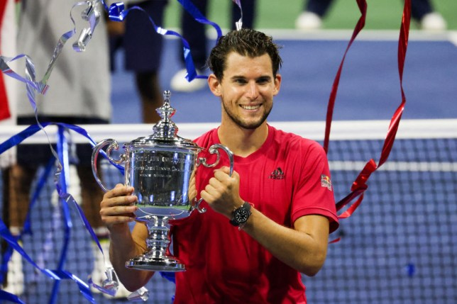 Dominic Thiem fought back from two sets to love down to win the US Open