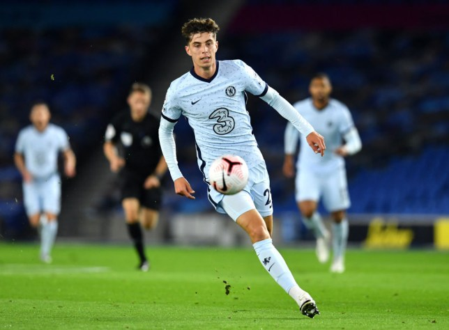 Havertz will be hoping for a strong home debut