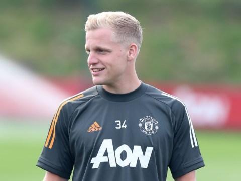 Manchester United new boy Donny van de Beek reveals conversation with Ole Gunnar Solskjaer over his best position