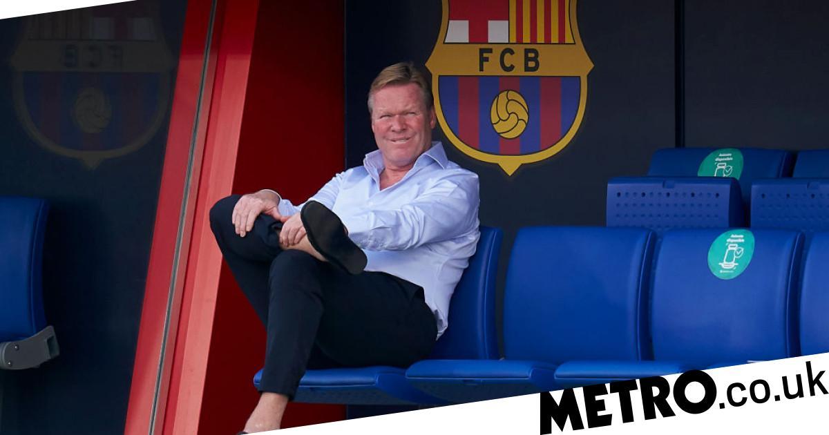Ronald Koeman blocked from sitting on Barcelona bench for La Liga games - Metro.co.uk