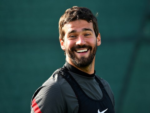 Liverpool star Alisson drops hint he could face Arsenal despite injury worry