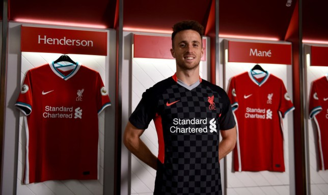 Jota completed a big-money switch to Anfield