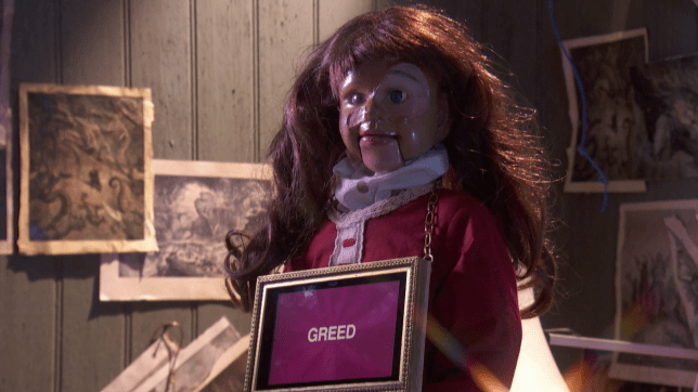 The doll from Hollyoaks.