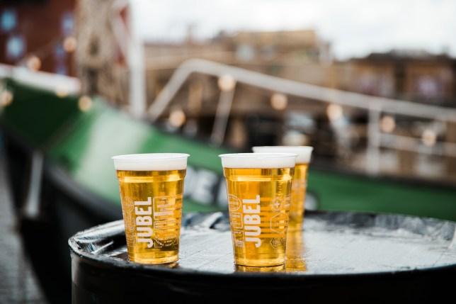 jubel beer pints