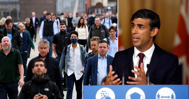 Rishi Sunak speaking at the press conference in Downing Street