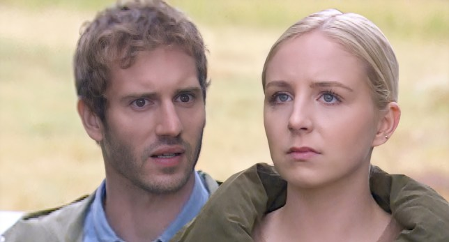 Jamie and Belle in Emmerdale