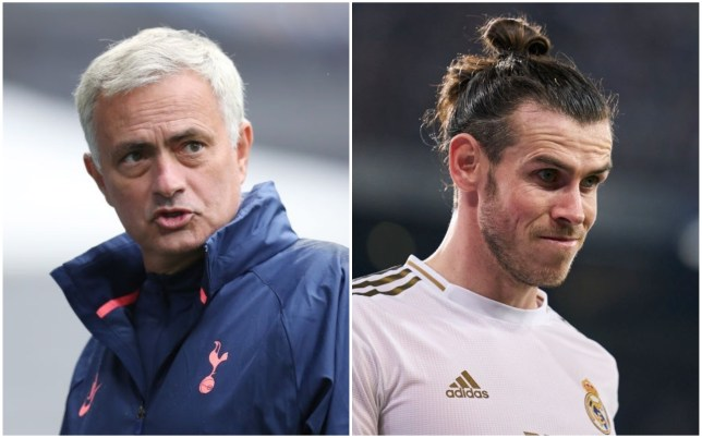 Jose Mourinho is supporting Tottenham's push to sign Gareth Bale