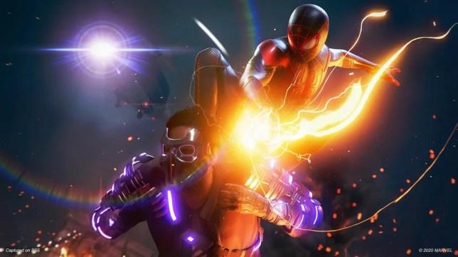 Spider-Man Miles Morales PlayStation 5 PlayStation 4