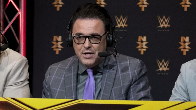 Former WWE and NXT commentator Mauro Ranallo