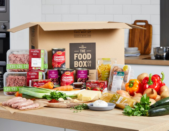 Morrisons launches food subscription service with recipe boxes to feed the family
