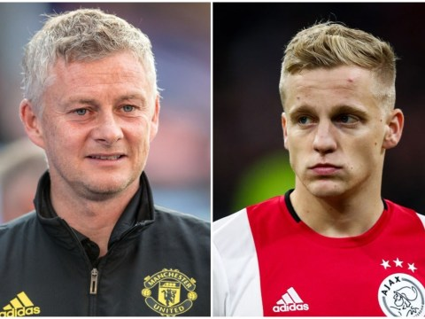 What Ole Gunnar Solskjaer told Donny van de Beek to convince him to join Man Utd