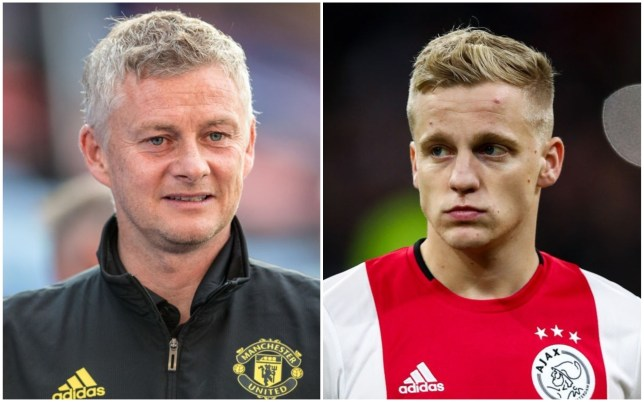 Ole Gunnar Solskjaer plans to play Donny van de Beek in an advanced role for Manchester United
