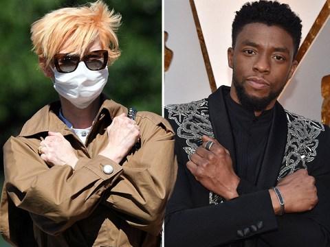 Tilda Swinton honours MCU castmate Chadwick Boseman with Wakanda Forever salute at Venice Film Festival
