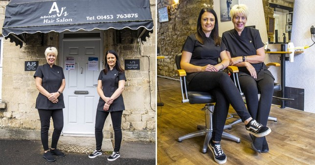A hair salon owner says she was told she couldn't run a job advert looking for 'happy' stylists as the word is 'discriminatory' to unhappy people.
