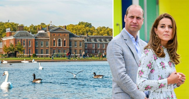 A woman's body was discovered in front of Kate and William's Kensington Palace home.
