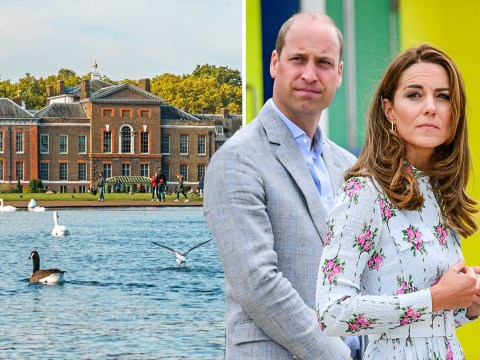 Woman's body found in pond outside Kate and William's Kensington Palace home