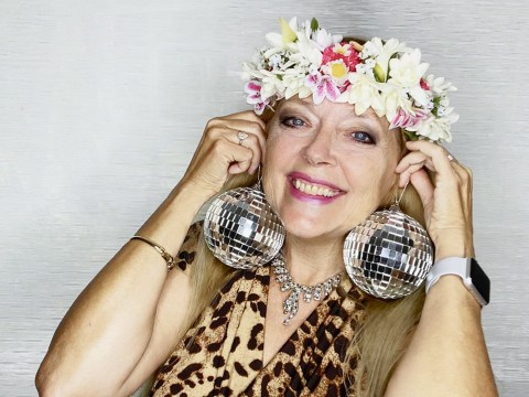 Carole Baskin won't part with signature flower crown in Dancing With The Stars portraits alongside Nelly and Chrishell Stause