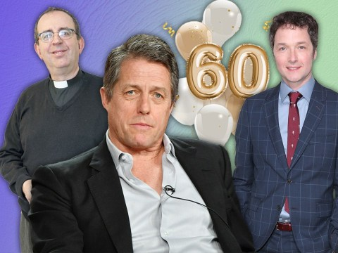 Hugh Grant turns 60: Rev Richard Coles and Chris Addison lead the charge as stars speak out on film icon's landmark birthday