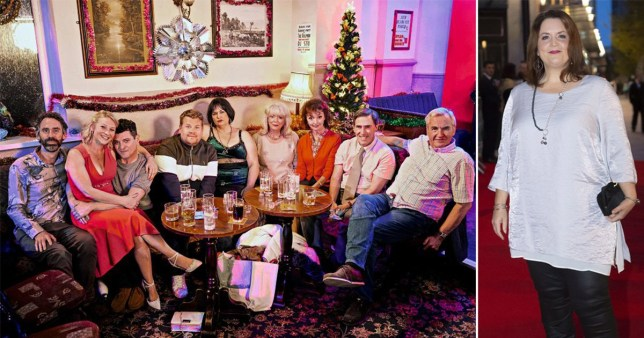 The cast of Gavin and Stacey; Ruth Jones