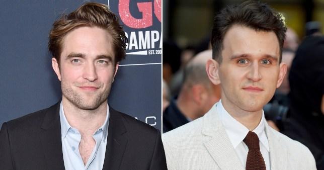 Harry Melling and Robert Pattinson.