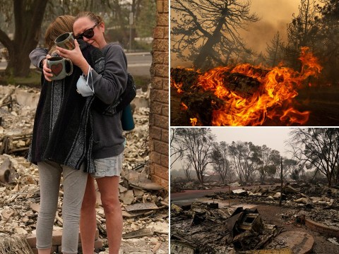 Dozens missing as deadly US wildfires create 'world's dirtiest air'