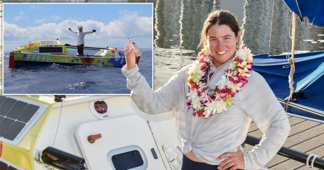 Lia Ditton's solo row from mainland USA to Hawaii.