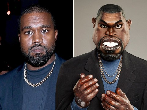 Kanye West gets his own Spitting Image puppet ahead of new series and he's Bound 2 love it