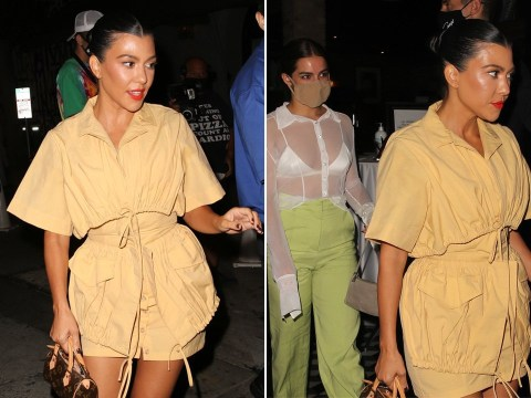 Kourtney Kardashian steps out after new Keeping Up With The Kardashians trailer saw her grilled about having another baby