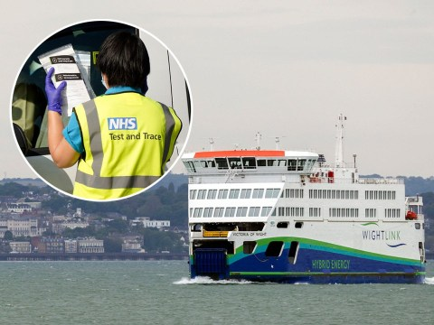 Government 'sending people to Isle of Wight on ferries' for coronavirus tests