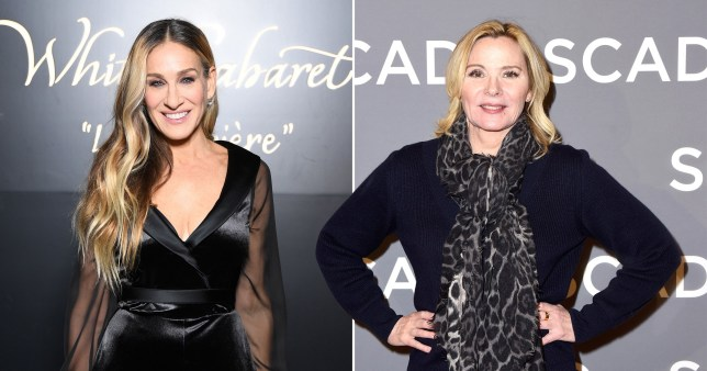 Kim Cattrall and Sarah Jessica Parker pictured separately