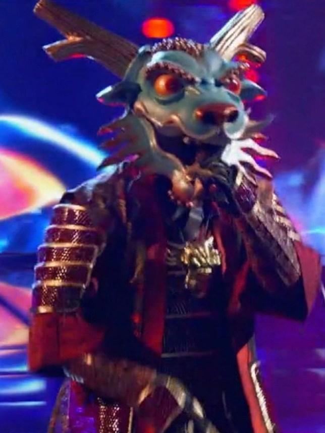 The Masked Singer US reveals dragon as season 4 kicks of f