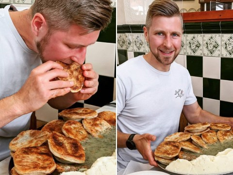 Man eats 18 pies – worth 8,000 calories – in just 43 minutes