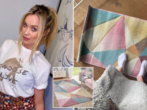 Laura Whitmore suffers incredible online shopping fail as she leaves Perrie Edwards in stitches