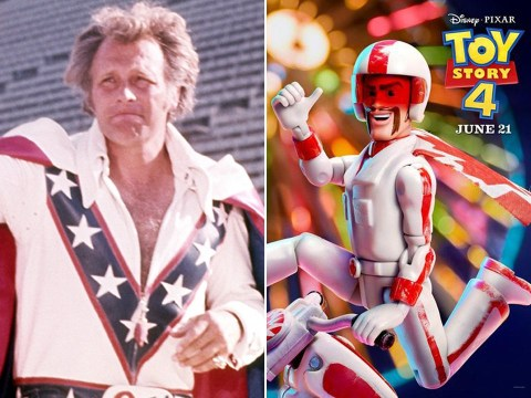 Disney 'sued by Evel Knievel's estate over Toy Story 4 character'