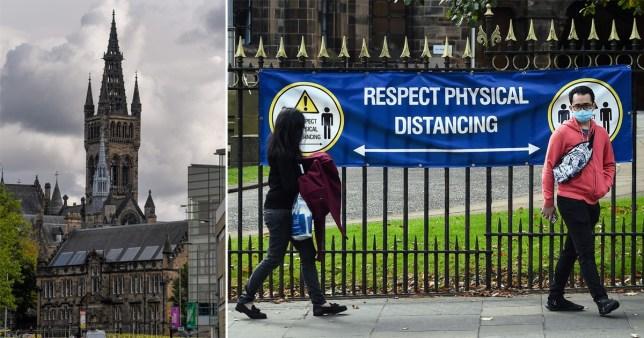 Glasgow uni to refund a month of rent