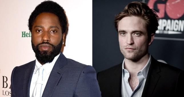 John David Washington and Robert Pattinson
