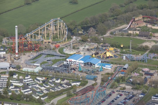 Theme park staff at Flamingo Land in North Yorkshire have been coughed and spat at for enforcing social distancing rules.