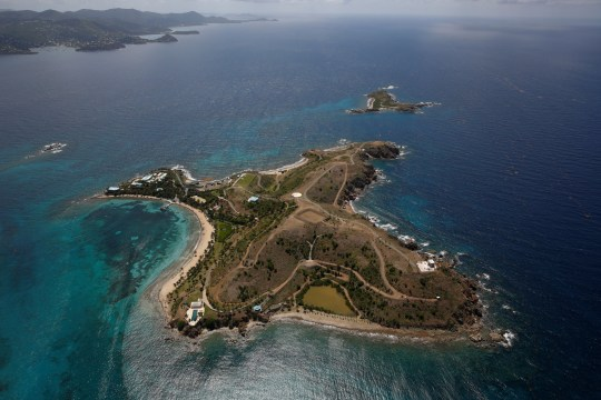 Photograph of Epstein's Island